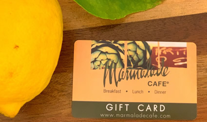 Marmalade Cafe Gift Cards