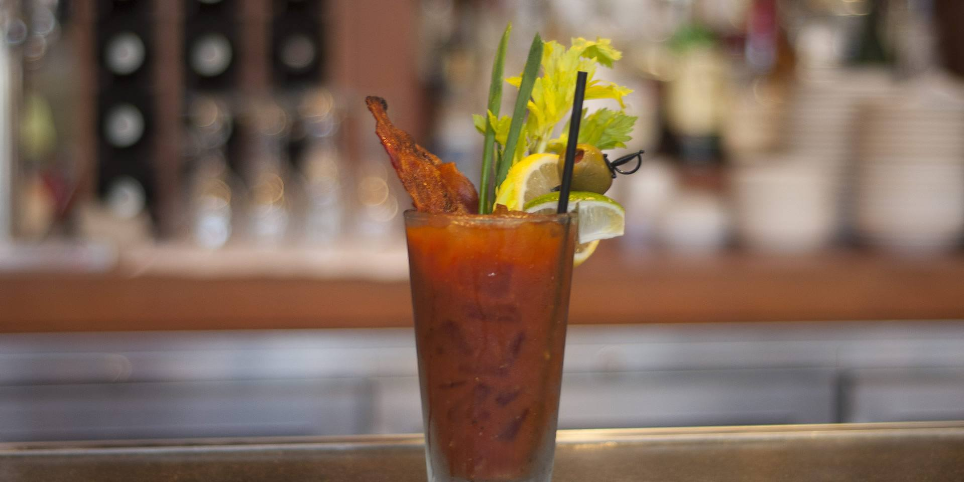 Bacon Bloody Mary - Marmalade Cafe